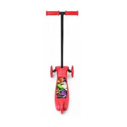 Трехколесный самокат самый легкий и доступный Small Rider Cosmic Zoo Scooter КРАСНЫЙ от 2 до 6 лет