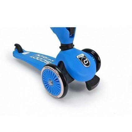Трехколесный самокат с сиденьем Scoot&Ride HighwayKick СИНИЙ от 1 до 5 лет (2 в 1)